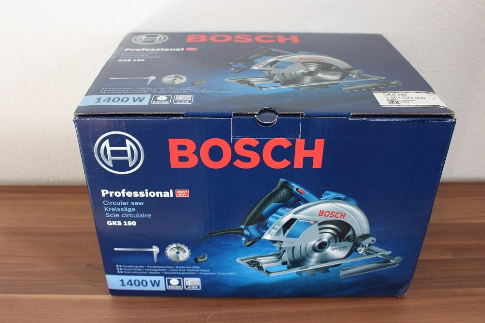 Bosch Karton Handkreissäge