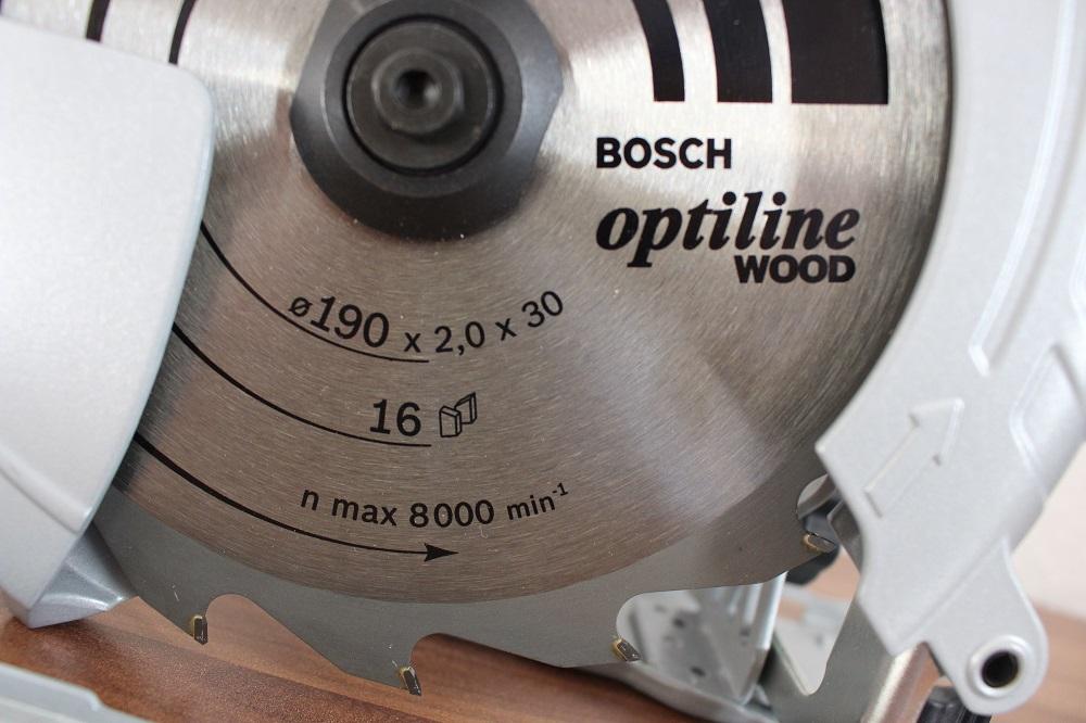 Sägeblatt der Bosch GKS 190