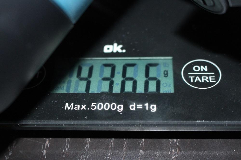 Gewicht der Bosch GKS 190