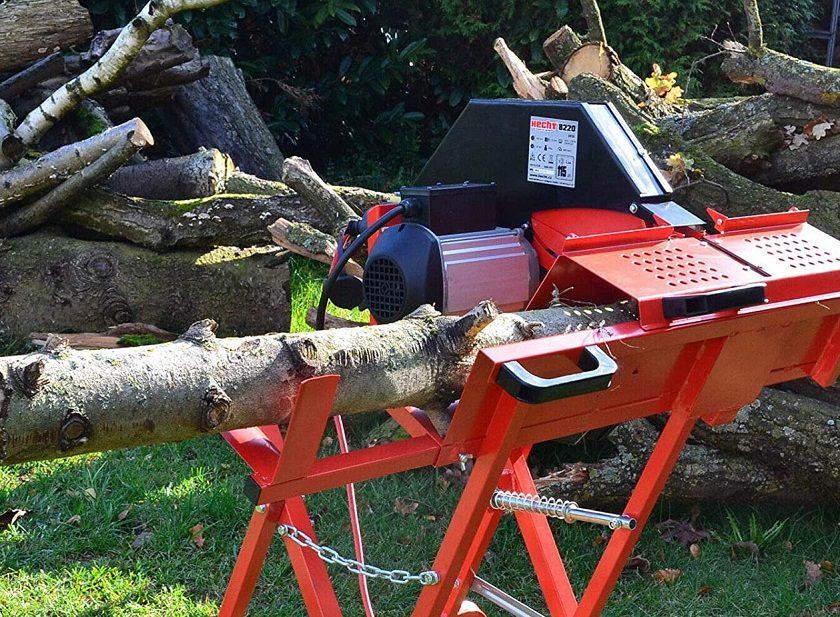 Brennholz Wippsäge Test