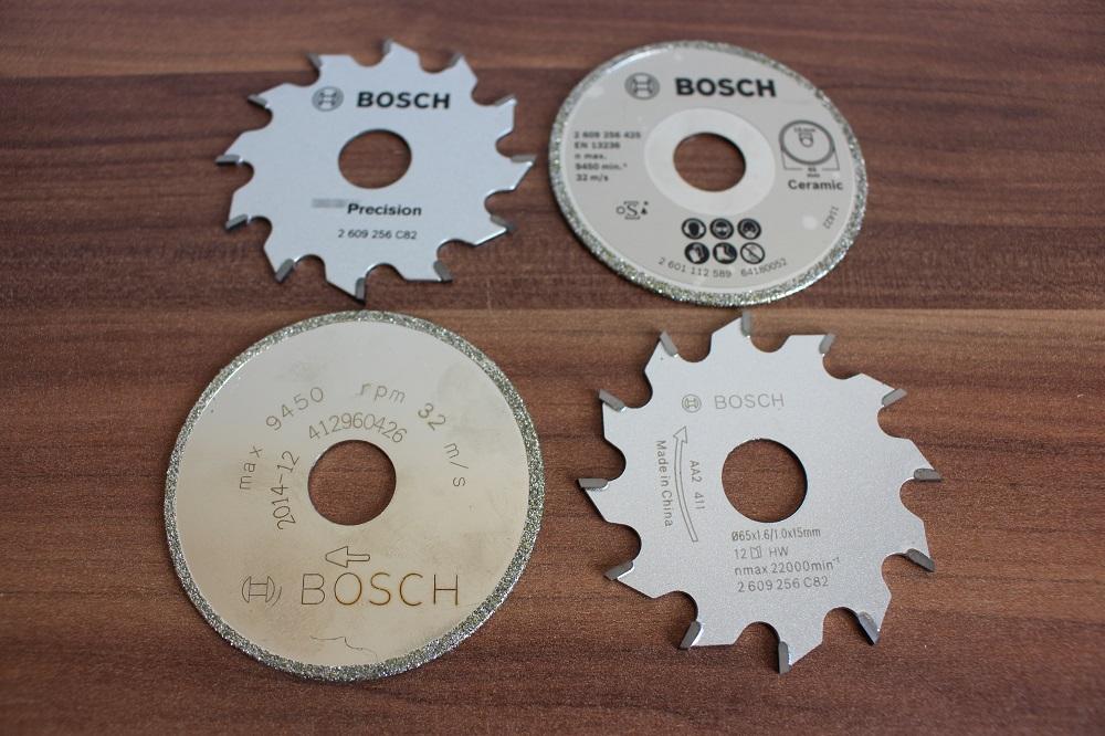 Sägeblatt der Bosch PKS 16