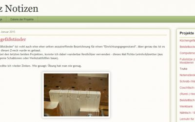 Holz Notizen