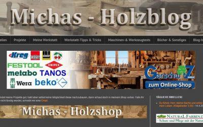 Michael Hild von Michas-Holzblog im Interview